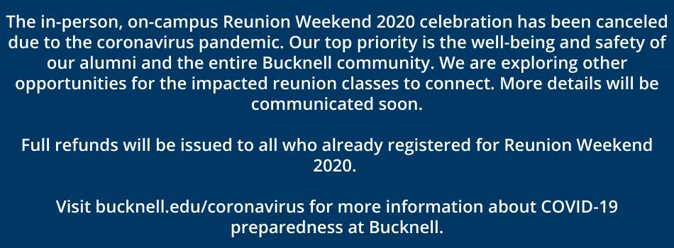 Reunion Cancellation Message