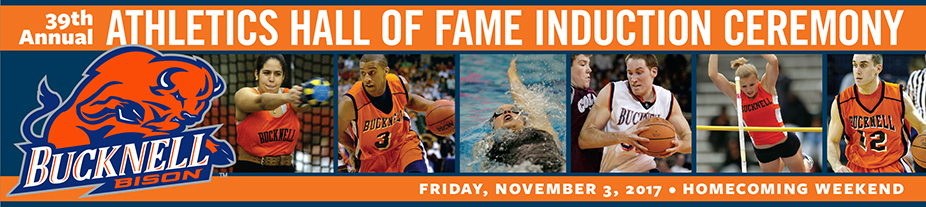 39th Annual Athletics Hall of Fame Induction Ceremony