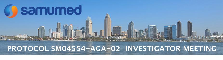 Samumed - Protocol SM04554-AGA-02 Investigator Meeting