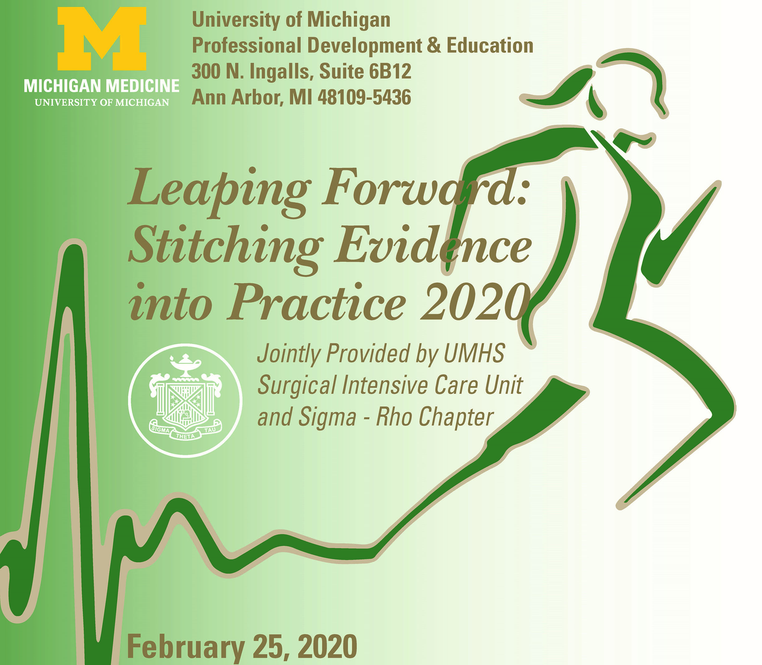 Leaping Forward Stitching Evidence into Practice 2020
