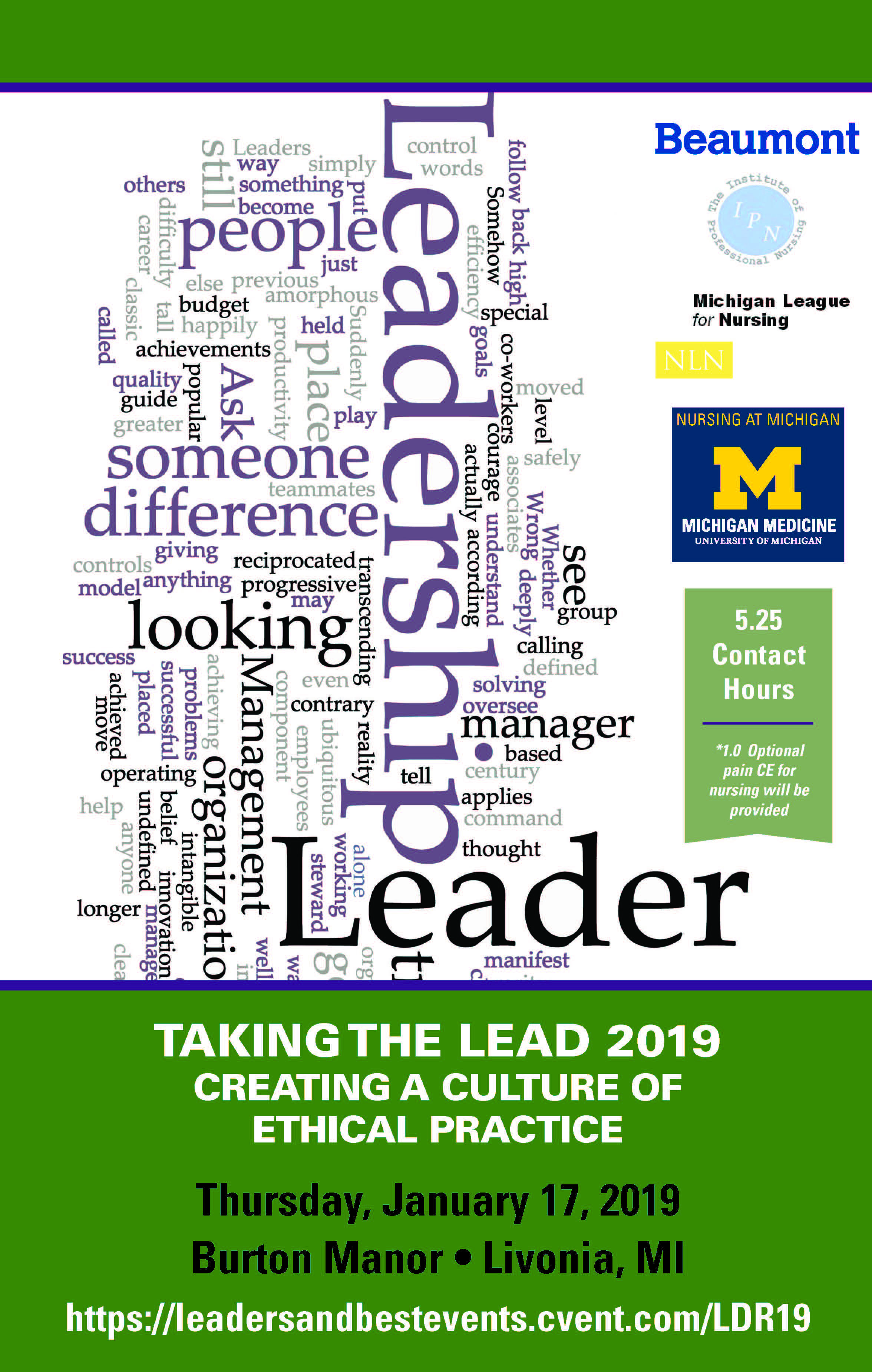 Taking the Lead 2019 Creating a Culture of Ethical Practice