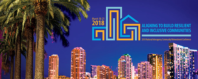 2018 National Interagency Community Reinvestment Conference Promo