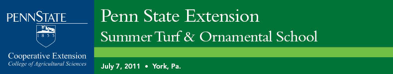 Penn State Extension Summer Turf & Ornamental School