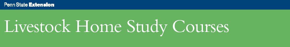 Livestock Home Study BANNER