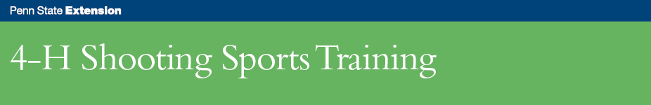 4-H Shooting Sports Instructor Training - Wellsboro