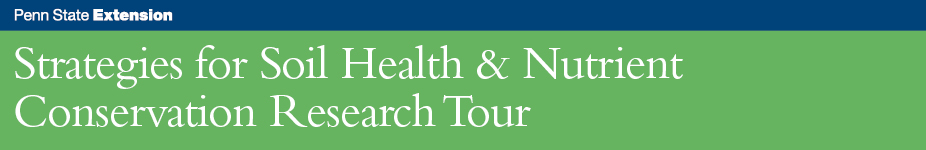 Strategies for Soil Health & Nutrient Conservation Research Tour - PA Furnace