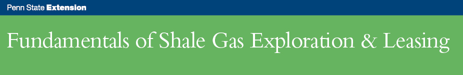 Fundamentals of Shale Gas Exploration & Leasing - Meadville & Mercer