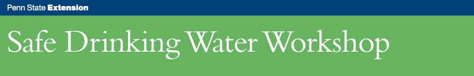 Safe Drinking Water Workshop - Stroudsburg