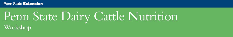 Dairy Cattle Nutrition Workshop