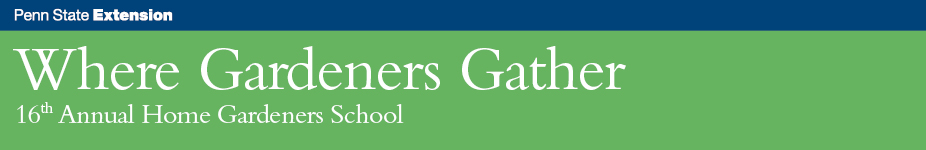 Where Gardeners Gather: Home Gardeners School - Malvern