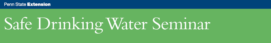 Safe Drinking Water Seminar - Hawley, PA