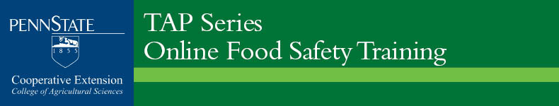 TAP Series Online Food Safety Training