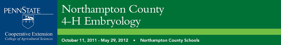 Northampton County 4-H Embryology