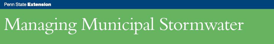 Managing Municipal Stormwater - Carlisle