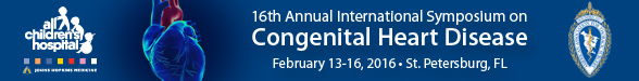 16th Annual International Symposium on Congenital Heart Disease