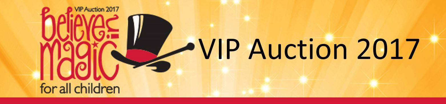 2017 VIP Auction