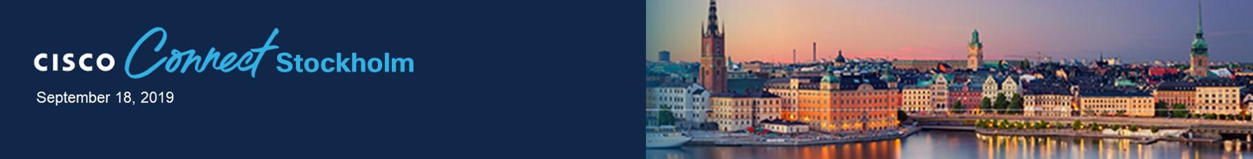 Cisco Connect Stockholm 2019