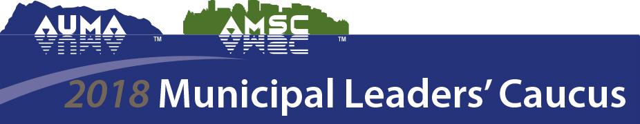 2018 Spring Municipal Leaders' Caucus