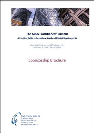 M&A practitioners summit sponsorship image