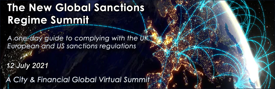 The New Global Sanctions Regime Summit
