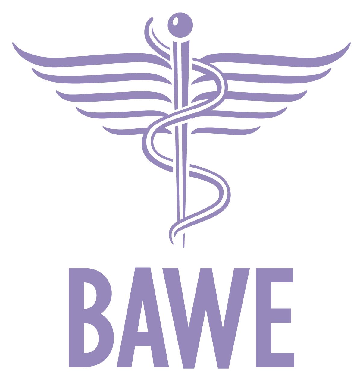 BAWE Logo Purple