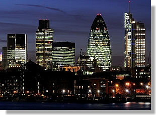 City at Night for Summary