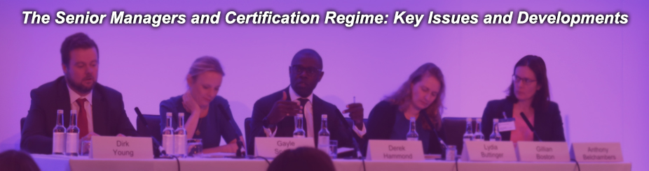 The senior managers and certification regime banner