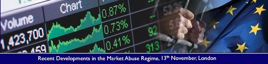 Recent Developments in the Market Abuse Regime 2015