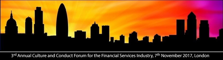 3rd Annual Culture and Conduct Forum for the Financial Services Industry