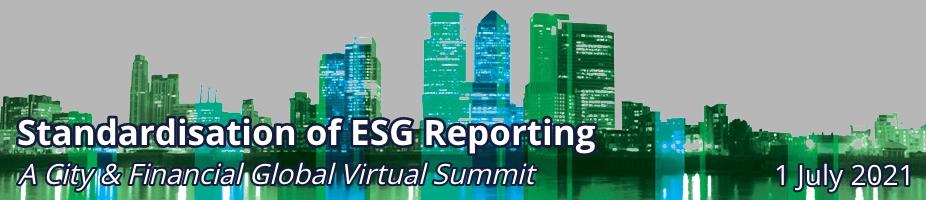 Standardisation of ESG Reporting
