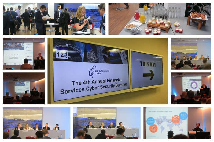 4th Financial services cyber security day images