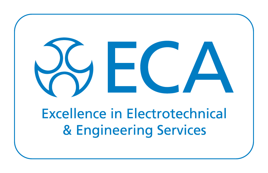 ECA Core Logo Strap White