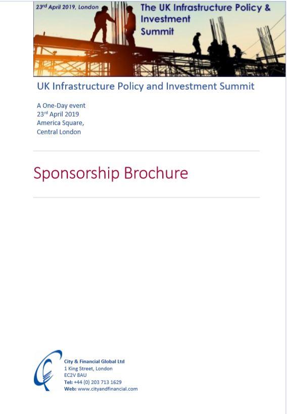 infra sponsorship brochure