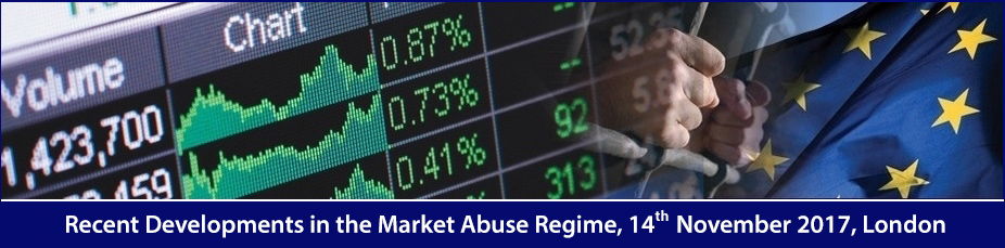 Recent Developments in the Market Abuse Regime 2017