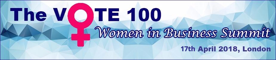 The Vote 100 Women in Business Summit