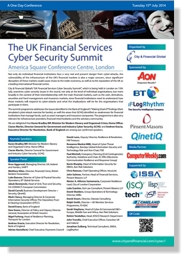 UK Financial services cyber security front image