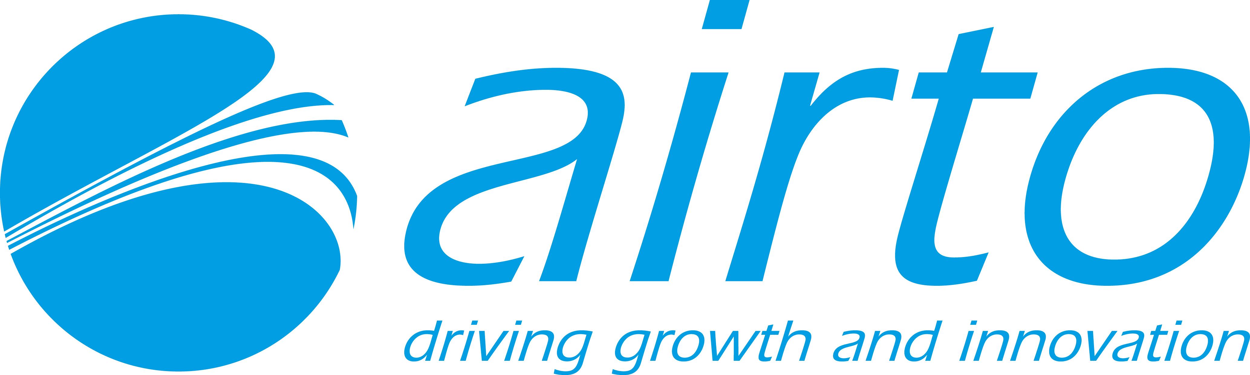 Airto logo new strapline