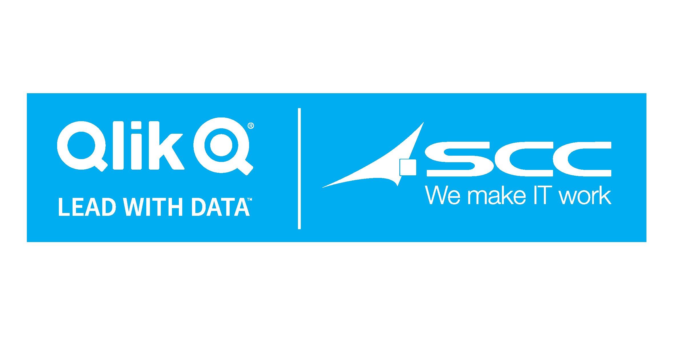 Qlik & SCC logo