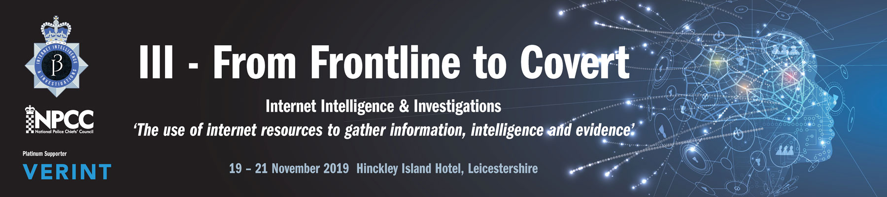 Internet Intelligence and Investigations Conference 2019