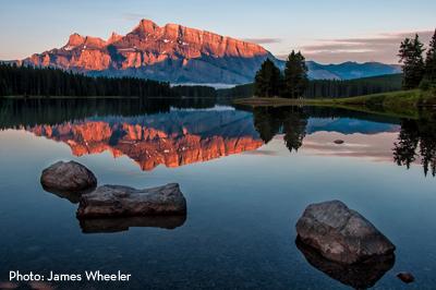 Lake Minnewanka Sunrise - James Wheeler