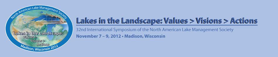 NALMS 2012 -- Madison, Wisconsin