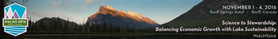 NALMS 2016 -- Banff, Alberta