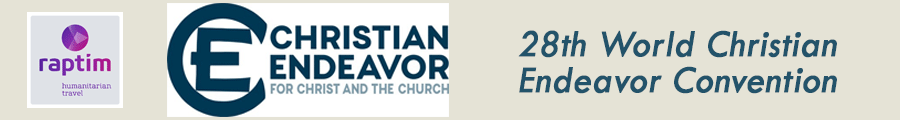 28th World Christian Endeavor Convention, San Diego, July 25–29, 2018