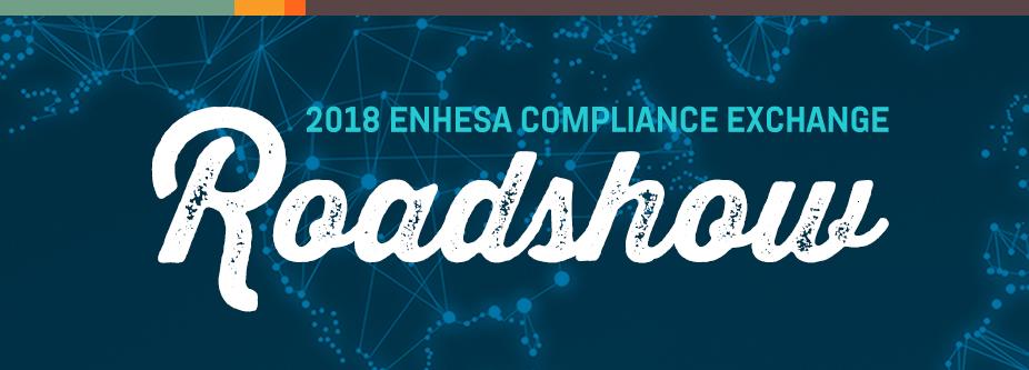 Enhesa Compliance Exchange Roadshow November 15, 2018: Frankfurt