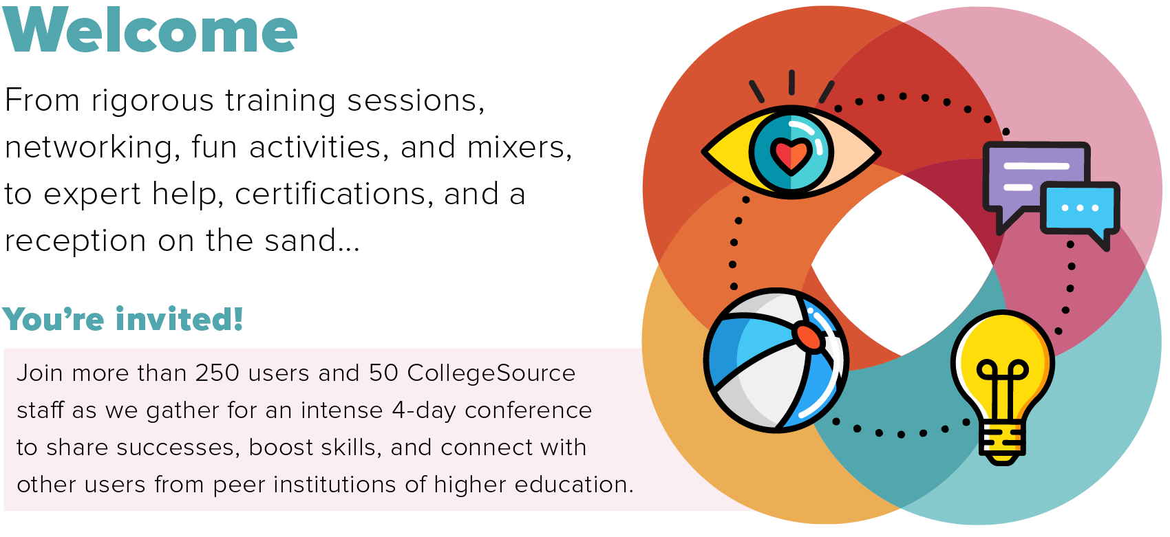 Join us at the 2018 CollegeSource Annual Conference!