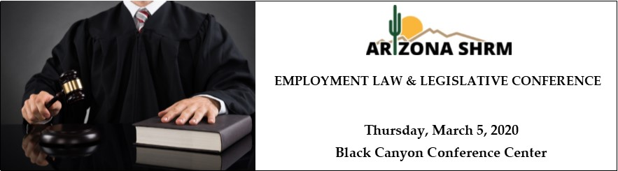 2020 AZSHRM Employment Law & Legislative Conference
