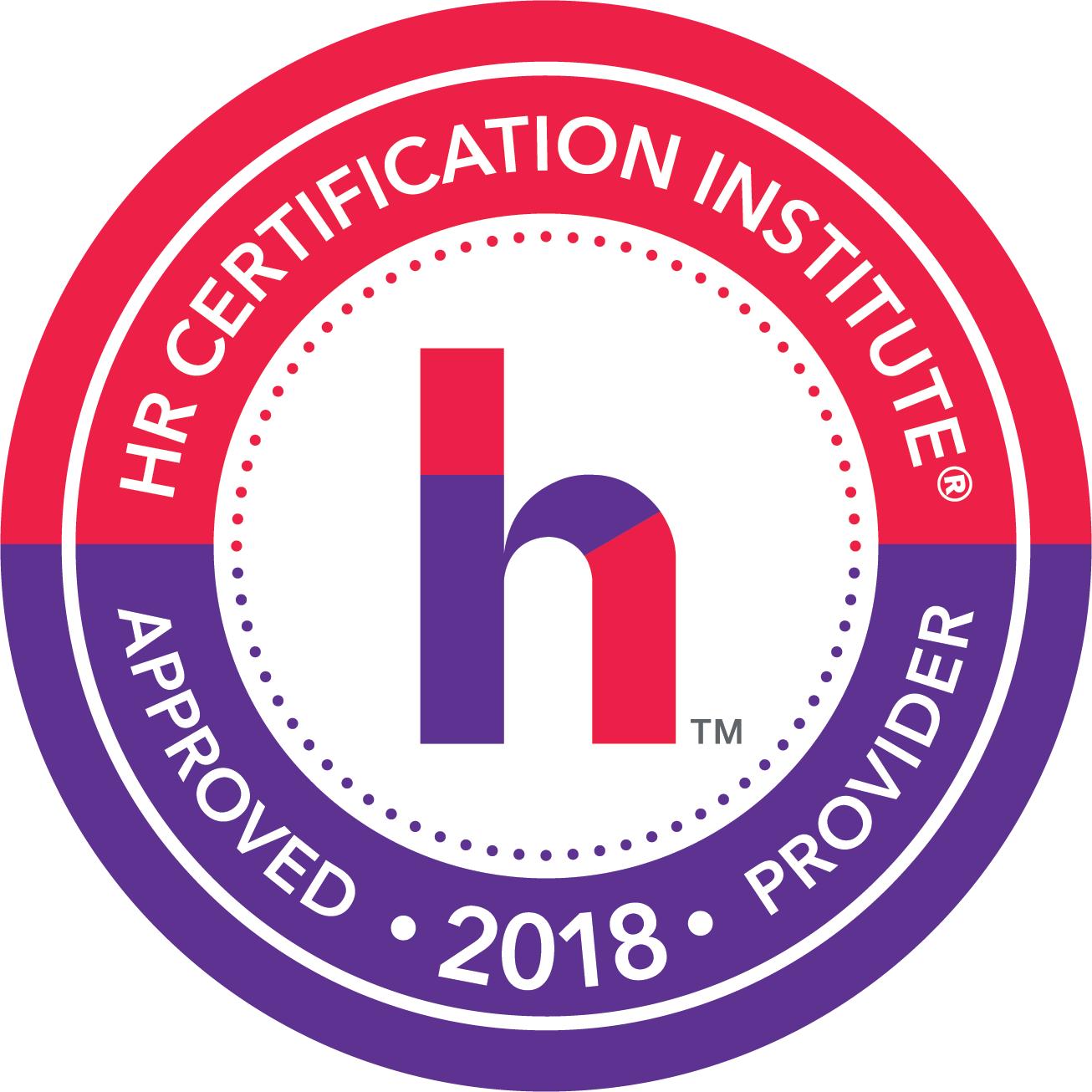HRCI 2018 Provider Logo