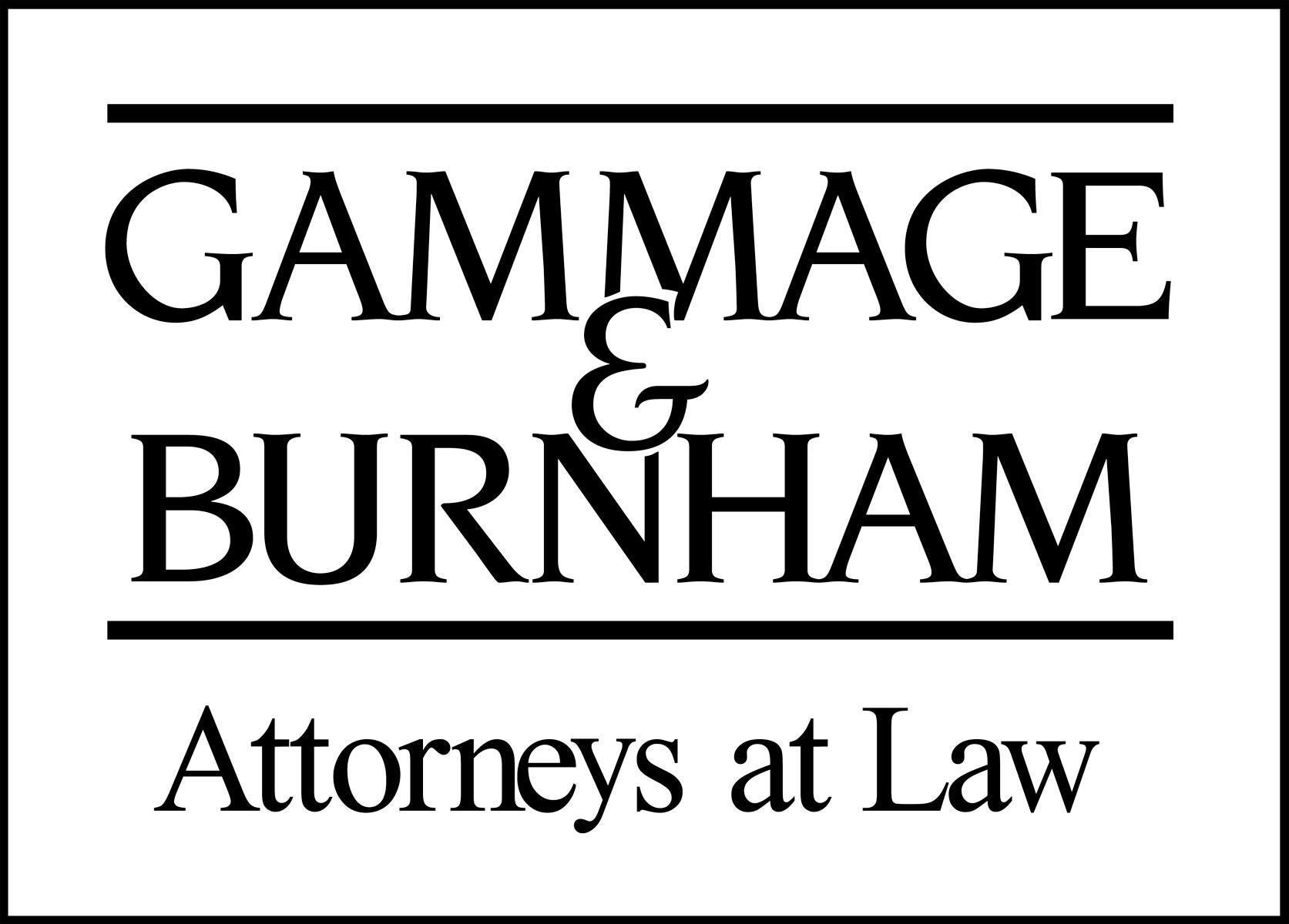 Gammage and Burnham Logo