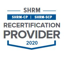 2020 SHRM Recert Logo