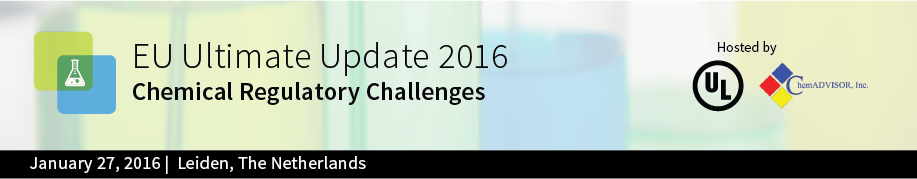 EU Ultimate Update 2016 Chemical Regulatory Challenges